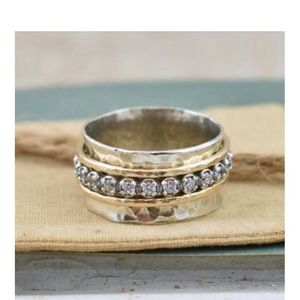 Beautiful Primitive Shine Ring by Inspiranza